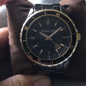 Michael Kors Black Chrono Watch